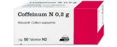 Coffeinum N 0,2 g Tabletten 50St PZN: 4584676