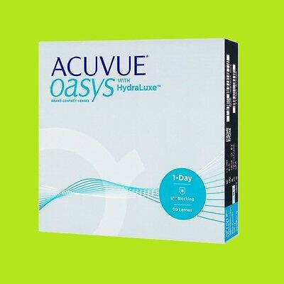 Acuvue Oasys 1 Day (1x90pk lenses / BC 8.5;9.0)