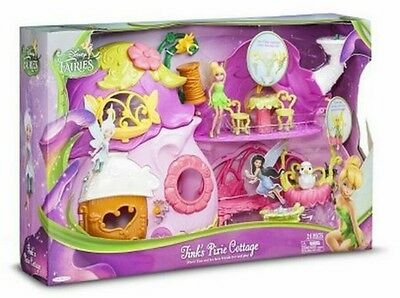 Disney Fairies Tinks Pixie Cottage Brand New