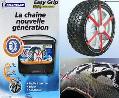 "Chaines Neige VL - MICHELIN EASY GRIP - L13 - 14"" à 17"""