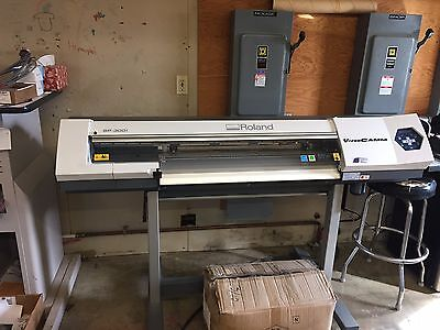 Roland Printer Plotter  SP300I  With Roland Stand  8 Hours of running time!