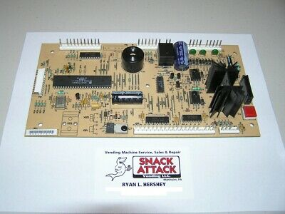FSI FAWN / USI SNACK VENDING MACHINE CONTROL BOARD (Brown) - Free Ship!