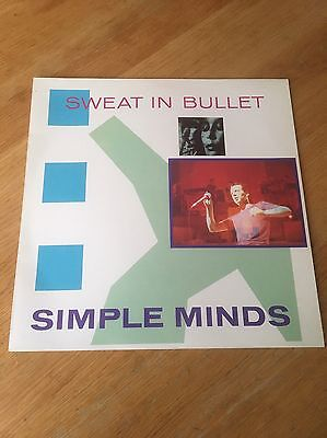 Simple Minds - Sweat In Bullet / League & Trance - vinyl - Virgin Records 1981