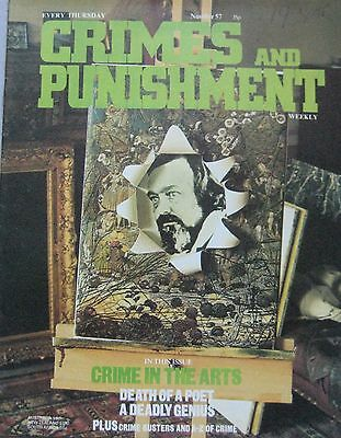 Crimes and Punishment magazine Issue 57 - Crime in the Arts