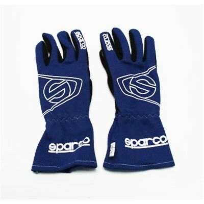 Sparco 001354 Land L3 Racing Gloves, Black, Size X-Small