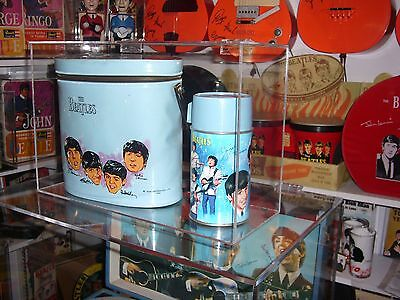 Custom Display Case for Beatles Brunch Bag & Thermos