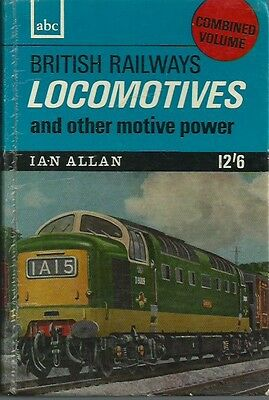Ian Allan ABC British Railways Locomotives Combined Volume 1965 -unmarked