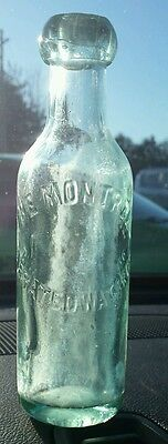 The Montreal Aerated Water Co soda