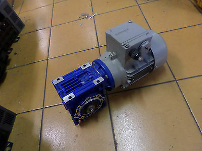 SIEMENS 0.18Kw 3 Phase motor with VARMEX Right angle Gearbox - 20:1 Reduction