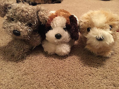 "Ty classic plush dogs RAGS, YODELER, JENKINS w/ tags 15"" MUST SEE RETIRED RARE!"
