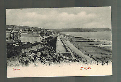 Mint Real Picture Postcard Ireland Cork Strand Beach Youghal RPPC