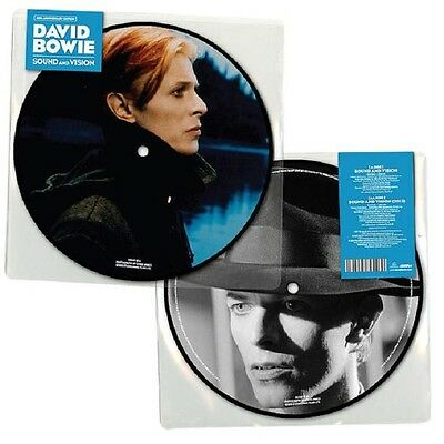 "DAVID BOWIE Sound and Vision - Limited Picture Vinyl / 7"" (40th Anniversary)"