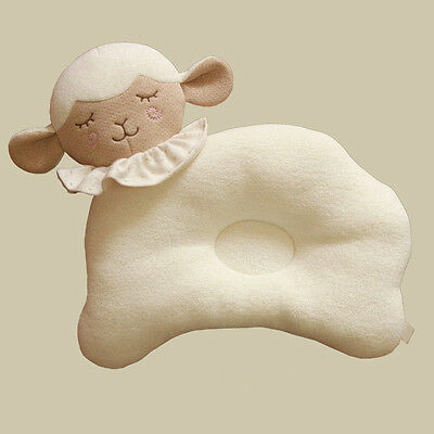 Baby Infant Sleep Positioner Pillow Prevent Flat Head Shape Support Sleep Chic