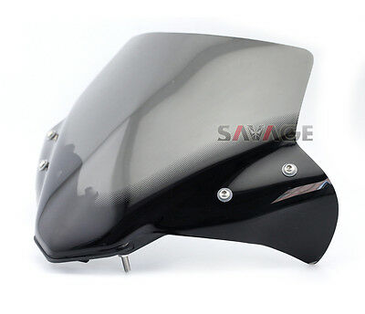 New Smoke Pare-brise Windshield Windscreen For Yamaha MT-07 FZ-07 2014 2015 2016