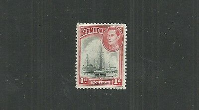 BERMUDA STAMP #118a (MNH) FROM 1938-51.