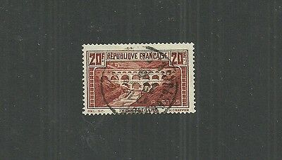 France Stamp #253 (Used) From 1929-33.