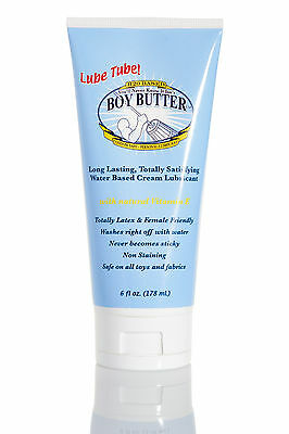 Boy Butter H2O - Water Based Lubricant - 6 oz Lube Tube
