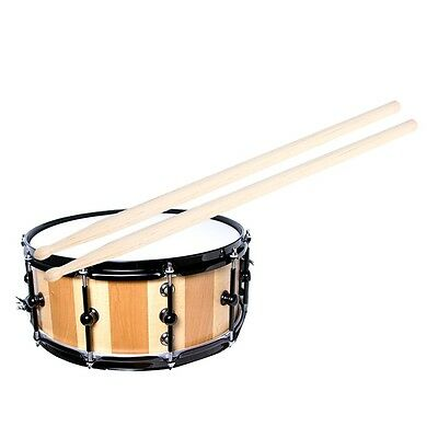 1 Pair of 5A Maple Wood Drumsticks Stick for Drum Drums Professional 0F