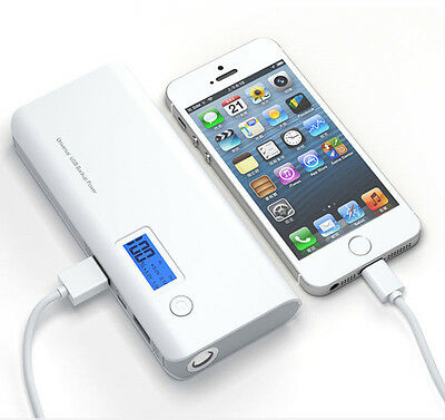 50000mAh External Power Bank Pack Portable USB Battery Charger For iPhone HTC UK