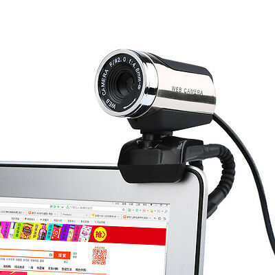 USB 2.0 Full HD Webcam Web Cam Camera With Mic Microphone for Laptop Desktop PC
