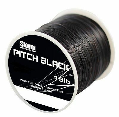 Storm Pitch Black Fishing Line 15lb 950m  0.35mm