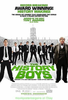 THE HISTORY BOYS MOVIE POSTER Original DS 27x40 MINT Rolled One Sheet