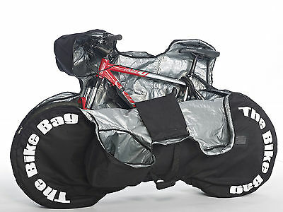 Fantastic New Padded Bike Bag - That Requires No Disassembling