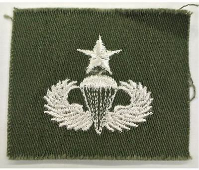 US Army / USAF Sew On Badge / patch - olive military insignia
