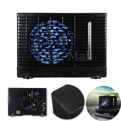 Black Portable Car Cooler Cooling Fan Water Ice Evaporative Air Conditioner 12V