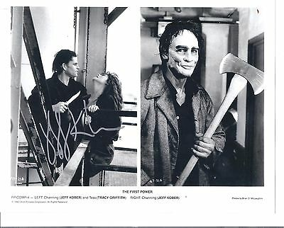 "JEFF KOBER- Film Actor Playing Channing In ""The First Power""-Signed 8x10 pic"