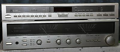 DUAL CV 1460/ CT 1460 Legendary Stereo Amplifier&Tuner Fully working!