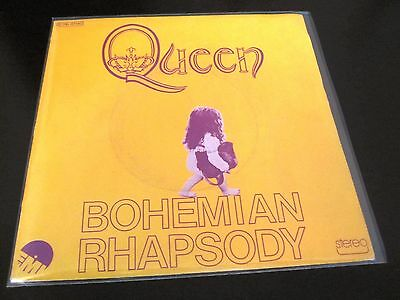 "Queen  :  Bohemian Rhapsody - 1975 French 7"" Single Vinyl Little Girl (France)"