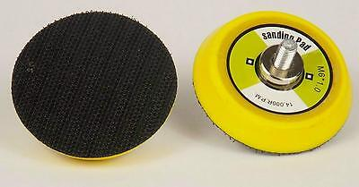 "VELCRO BACKING PAD 3"" 75mm FOR MINI DA SANDER POLISHERS 6mm x 1.0 Thread"