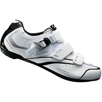 Shimano R088 - SPD-SL Road Bike Cycling Shoes - White - EUR 43/49/50