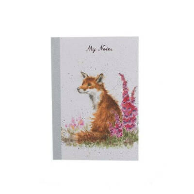 The Country Set A6 Foxgloves Notebook - My Notes Book by Hannah Dale
