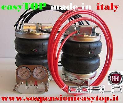 PNEUMATIC AIR SUSPENSION KIT airspring easyTOP FIAT DOBLO' from 2001 to 2010