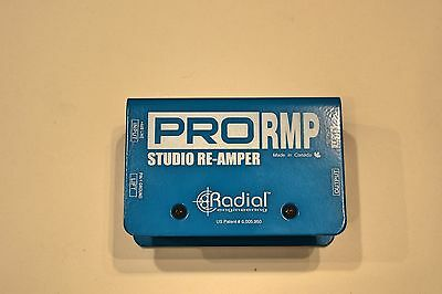Used Radial Pro Amp Reamp Guitar Effects Pedal