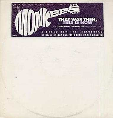 """Monkees That Was Then This Is Now 12"""" vinyl single record (Maxi) USA promo"""