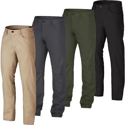 Oakley 2017 Icon 5 Pocket Pants Mens Slim Golf Trousers