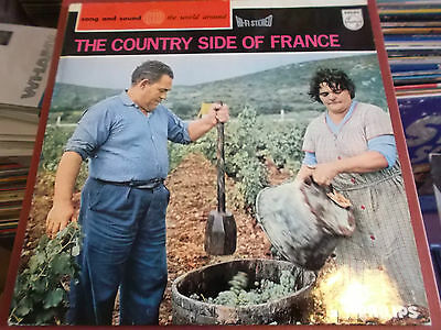 The Country Side Of France: Vinyl Lp: Philips
