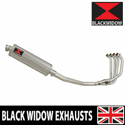 KAWASAKI ZRX 1200 Full Exhaust System Oval Stainless Silencer 400SS
