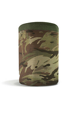 Pro Force Hc Camo Tactical Snood / Scarf/ Headover 3 In 1 Army With Fleece Edge