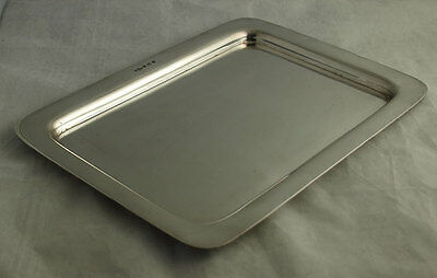 Elegant George V Solid Silver Tray - 407g - Joseph Gloster 1921