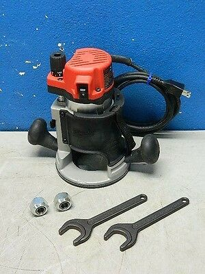 Milwaukee 5615-20 BodyGrip Fixed-Base Router 24000 RPM 1-3/4 HP 11 Amp 120v