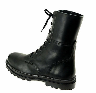 Russian Military Army Standard Soldier Leather Boots