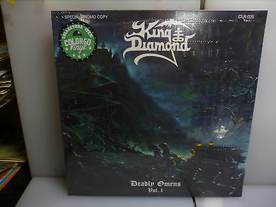 King Diamond-Deadly Omens Vol. 1. Holland 1987.-Blue Vinyl Lp-New.sealed.