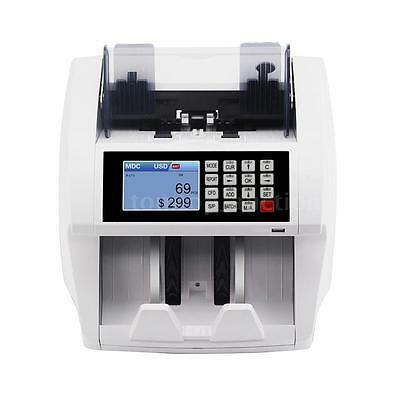2017 Bill Money Cash Counter Currency Counting Machine Counterfeit Detector U8N4