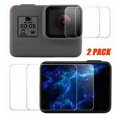 For GoPro Hero 5 Camera HD Transparent Premium Screen Protector Protective Film