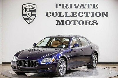 2011 Maserati Quattroporte  2011 Maserati Quattroporte 1 Owner Clean Carfax Low Miles Pristine
