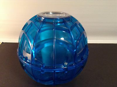 Play & Freeze Ice Cream Maker Ball Blue With Instructions Fun